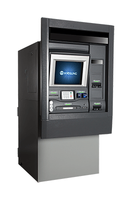 Nautilus Hyosung 7600DR Through-The-Wall ATM